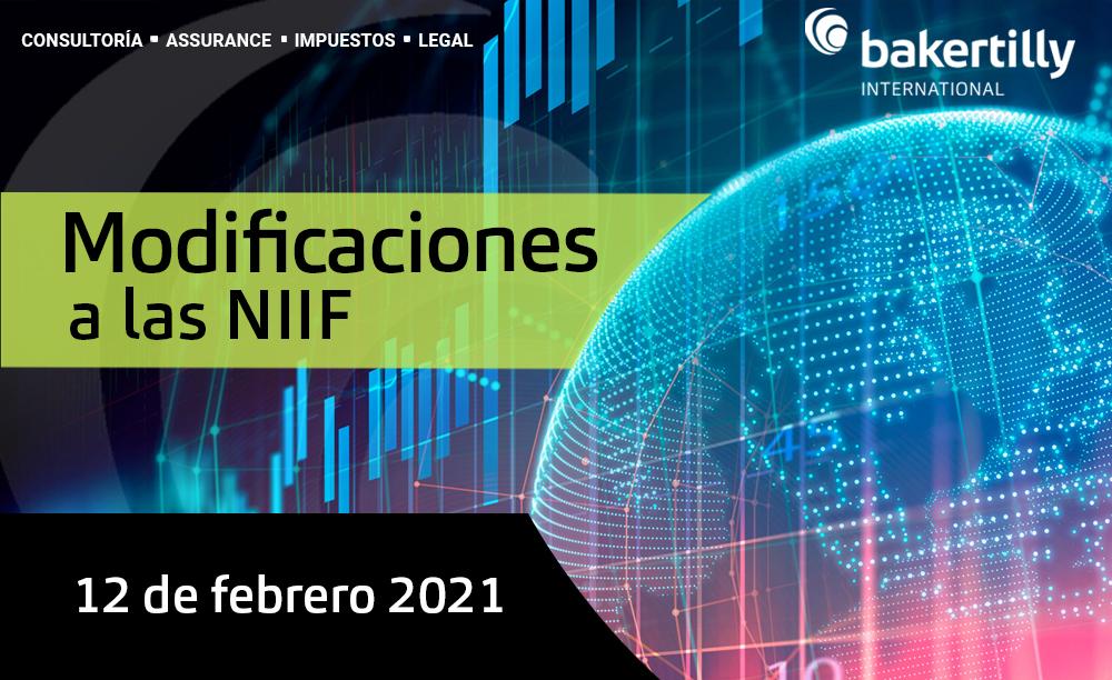 MODIFICACIONES A LAS NIIF – 12 de febrero 2021
