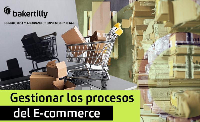 Gestionar los procesos del E-commerce