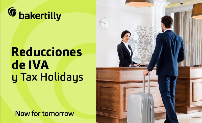 Reducciones de IVA y Tax Holidays