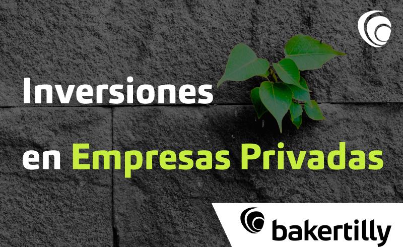 Inversiones en empresas privadas